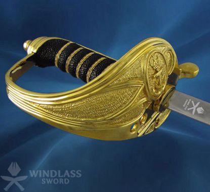 Royal Navy Master at Arms' Sword and Scabbard