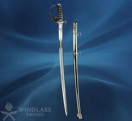 Household Cavalry Troopers' Sword with Scabbard