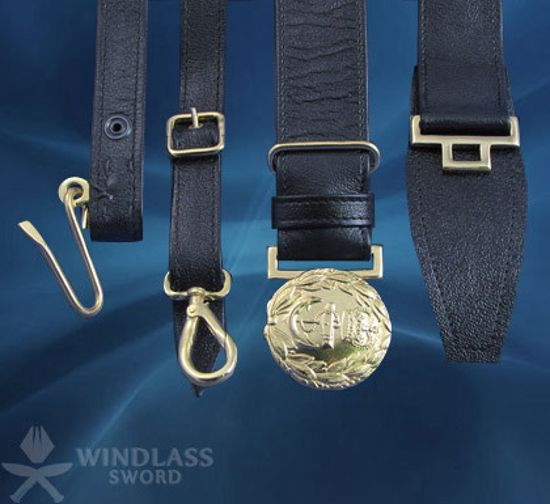 Royal Navy belt and slings